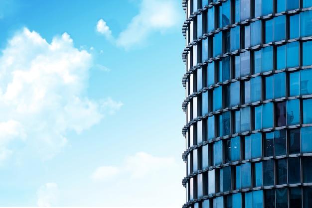 Parede de vidro moderno edifício Foto Premium