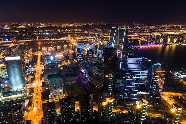 Parque industrial de suzhou Foto Premium