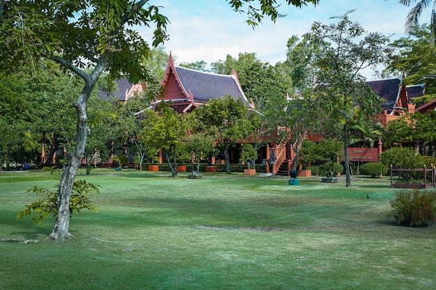 Parque memorial do rei rama ii. Foto Premium