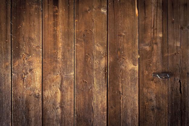 Parte do grande fundo de madeira velho de tábuas largas Foto Premium
