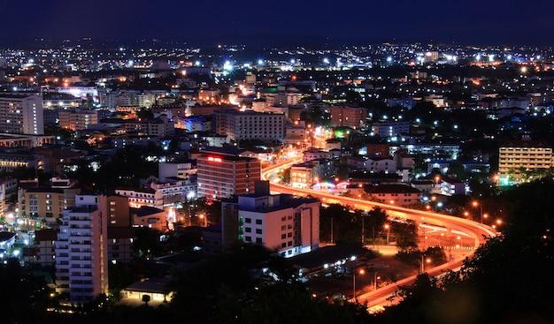 Pattaya highway tailândia Foto Premium