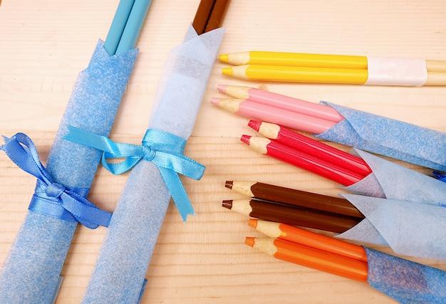 Pauzinhos de lápis Foto Premium