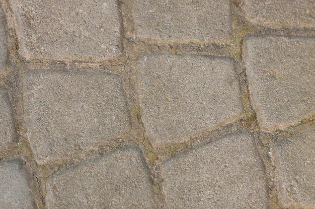 Pavimento cinza - retangular e pequeno e grande quadrado. textura tileable sem emenda. Foto Premium