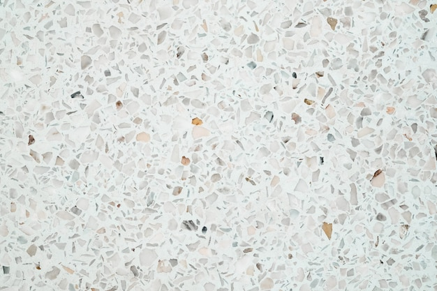 Pavimento e parede de pedra polida com terrazzo Foto Premium