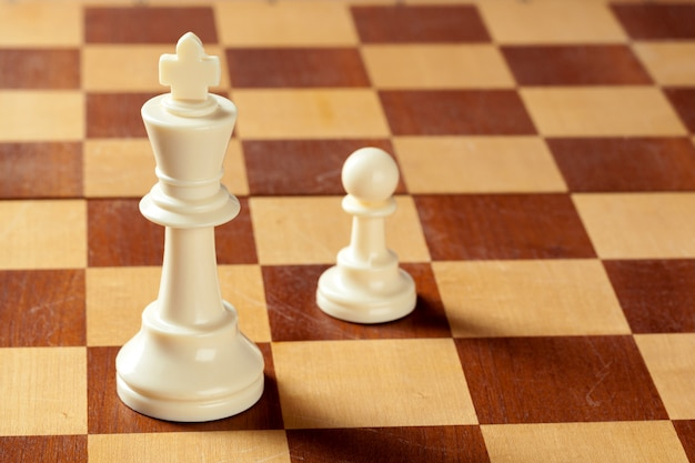 Peças de xadrez Foto Premium