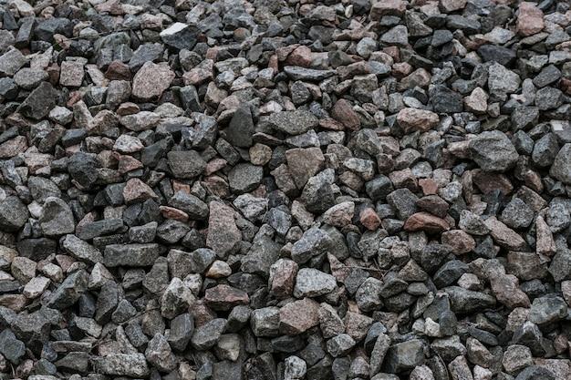 Pedras trituradas naturais Foto Premium