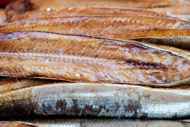 Peixe defumado Foto Premium