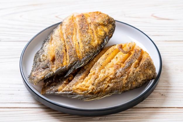 Peixe gouramy crocante Foto Premium