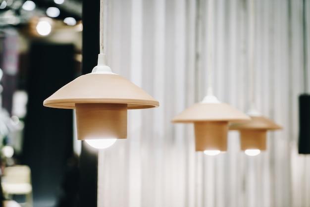 Pendurado decoração da lâmpada Foto Premium