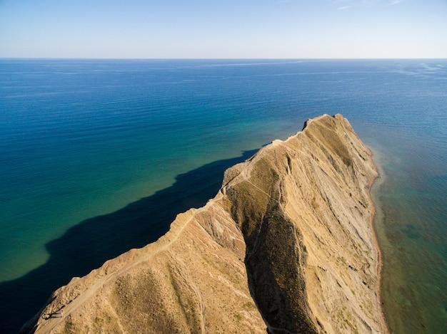Península de camaleão na criméia Foto gratuita