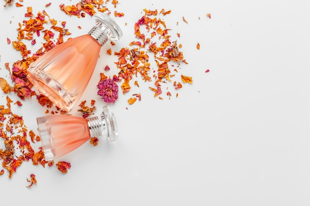 Perfume feminino elegante Foto Premium