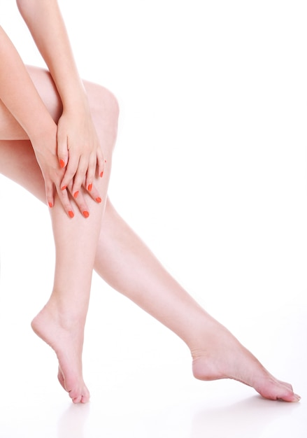 Pernas de mulher Foto gratuita