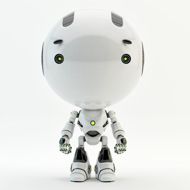 Personagem bonito robô Foto Premium