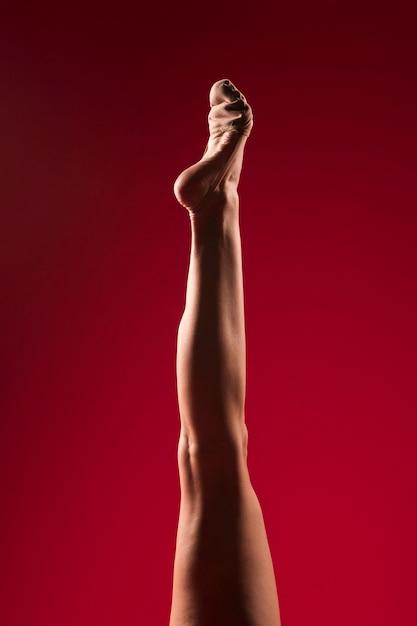 Pés de ginasta Foto gratuita