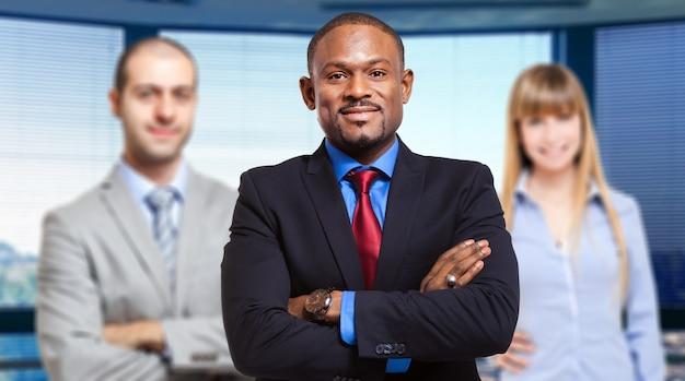Pessoas de negócios multiétnica Foto Premium