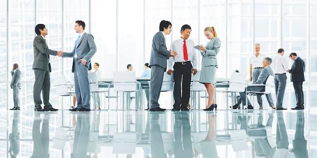 Pessoas negócio, discutir Foto Premium