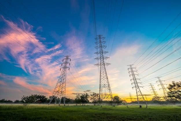 Pilão de eletricidade Foto Premium