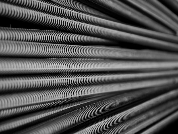 Pilha de aço Foto Premium