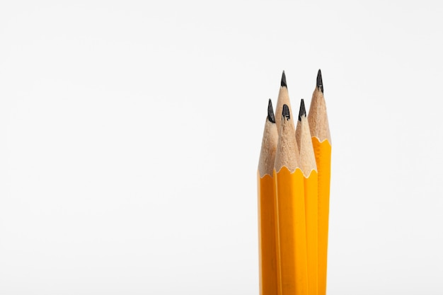 Pilha de lápis Foto Premium
