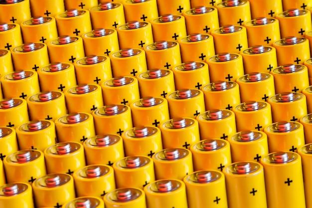 Pilhas alcalinas tamanho aa Foto Premium