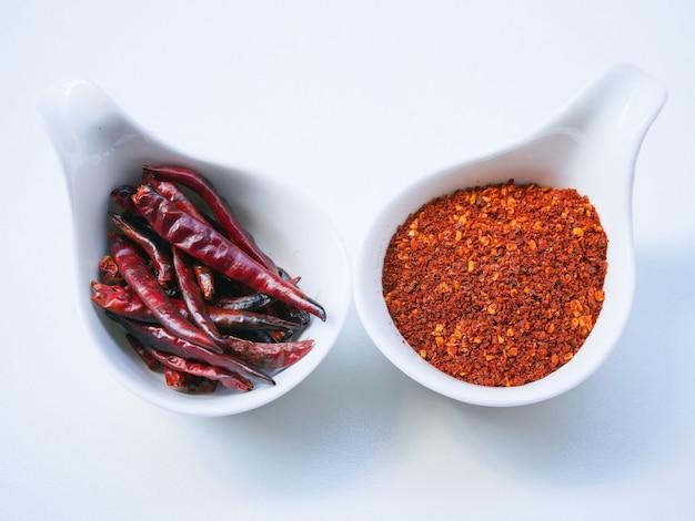 Pimenta vermelha e fria Foto Premium