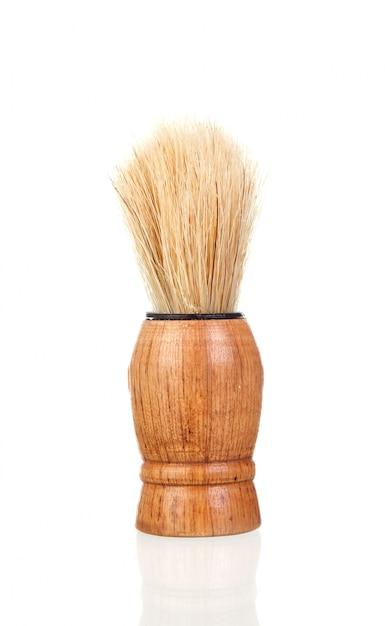 Pincel de barba clássico Foto Premium