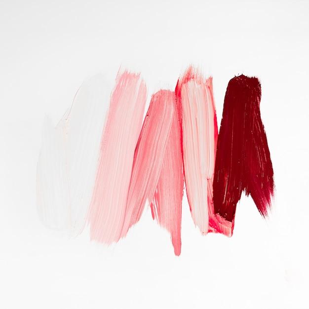 Pinceladas coloridas artísticas de tinta Foto gratuita