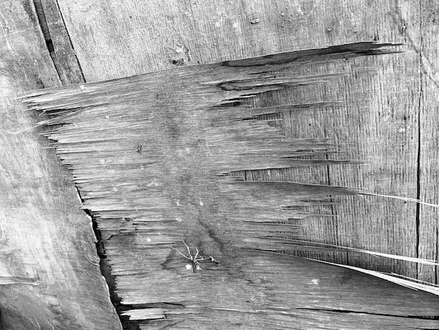 Pintado de fundo de placa de madeira rústica cinza ou branco Foto Premium