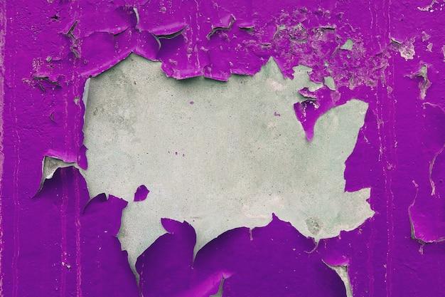 Pintado, desbotado, rebocado, parede. plano de fundo texturizado. Foto Premium