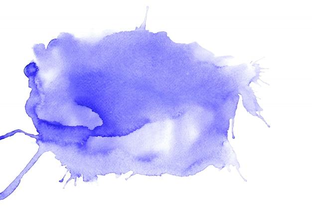 Pintura colorida de água abstrata. conceito de ilustração de cor pastel. Foto Premium