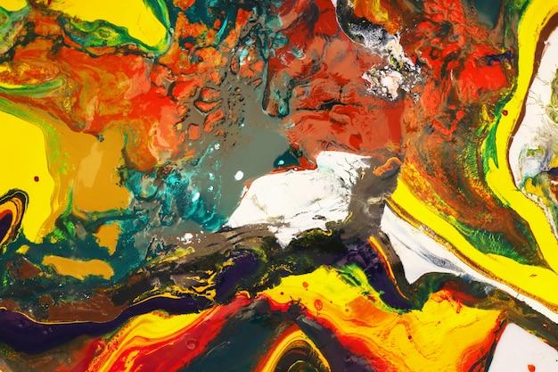Pintura de cor pode ser usada como um fundo moderno para cartazes, cartões, convites, papéis de parede. Foto Premium
