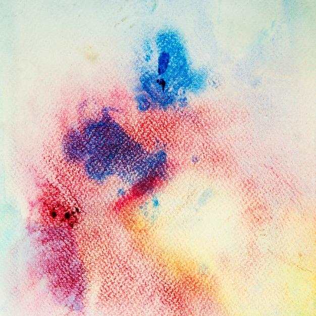Pintura de mão abstrata arte aquarela sobre fundo branco Foto Premium