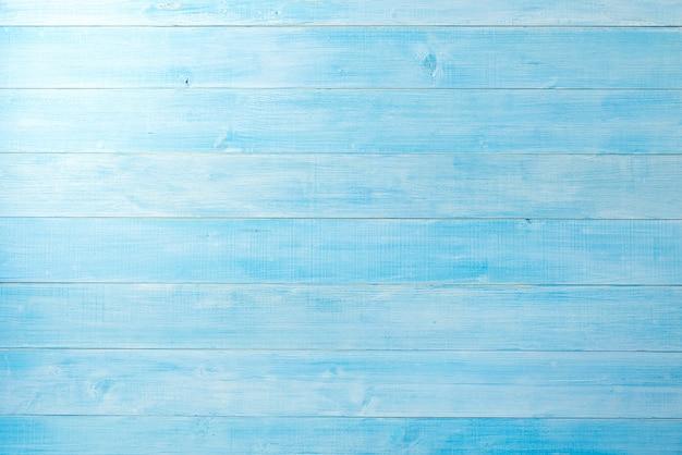 Piso De Prancha De Madeira Azul Claro Para Plano De Fundo Do Projeto