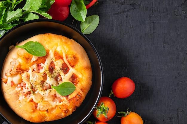 Pizza na panela Foto Premium
