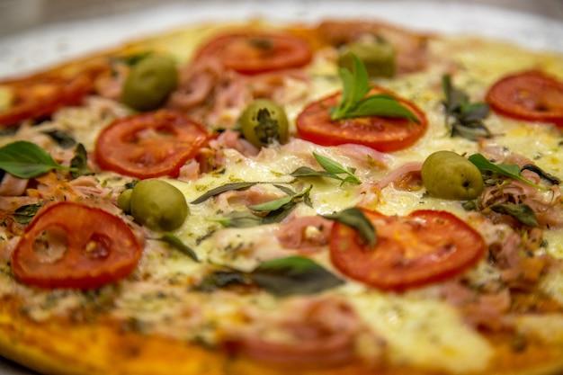Pizza rústica brasil Foto Premium