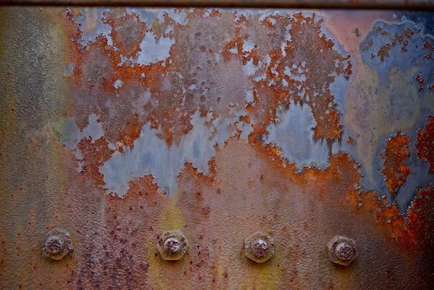Placa de metal oxidado Foto gratuita