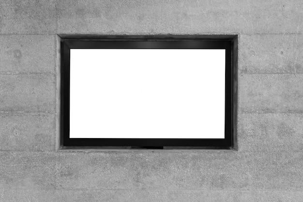 Placards de iluminação para os meios de relações públicas e relações públicas para o público Foto Premium