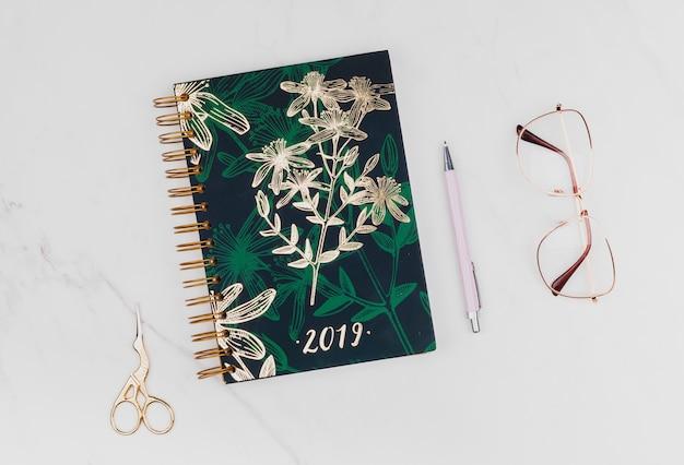Planejador para 2019 Foto Premium