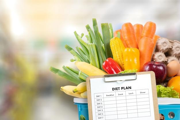 planes de comida de pérdida de peso para familias