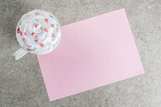Plano de fundo romântico, dia dos namorados Foto Premium