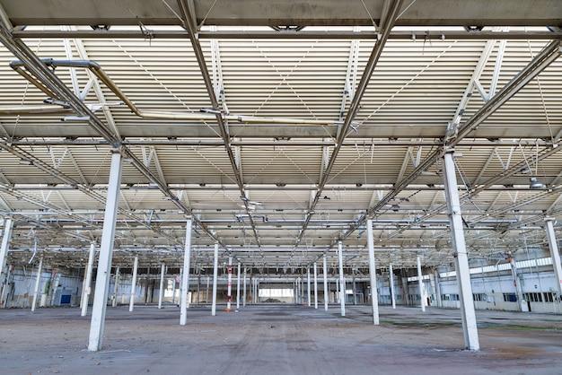 Planta industrial abandonada Foto Premium