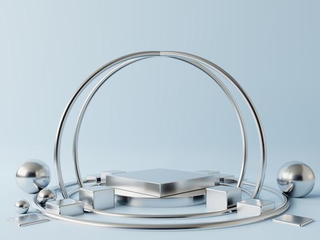 Pódio abstrato para a colocação de produtos. Foto Premium
