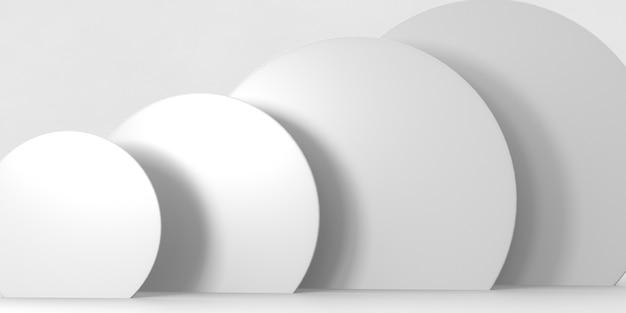Pódio de renderização 3d para produtos de luxo Foto Premium