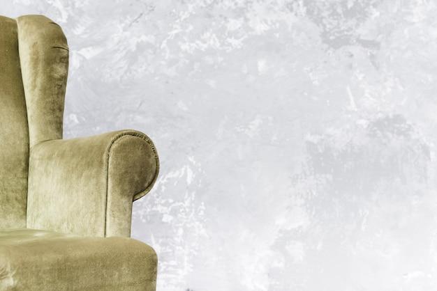 Poltrona confortável close-up Foto gratuita