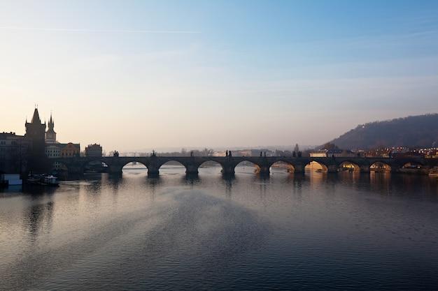 Ponte de charles praga, república tcheca Foto gratuita