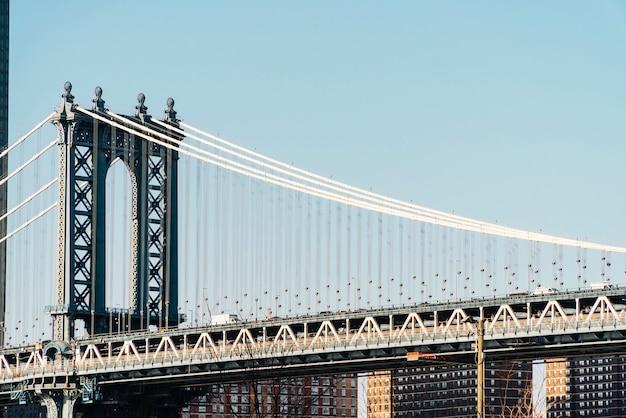 Ponte de manhattan em nova york Foto gratuita