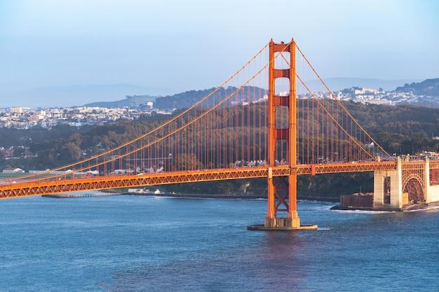 Ponte golden gate, são francisco Foto Premium