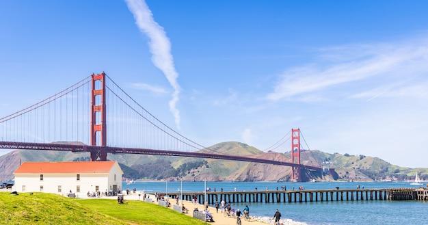 Ponte golden gate Foto Premium
