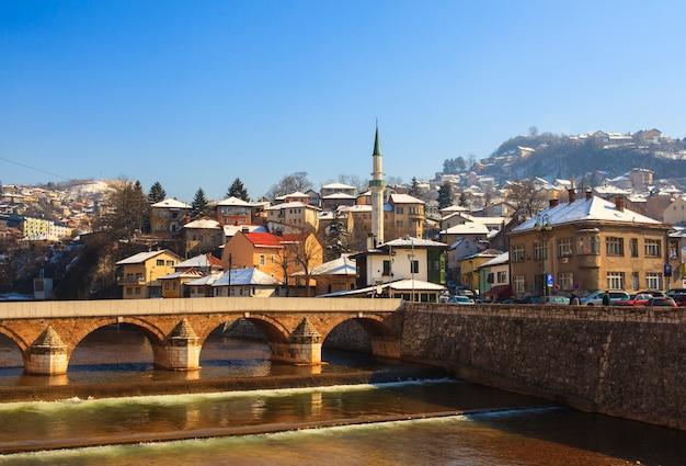 Ponte latina em sarajevo Foto Premium