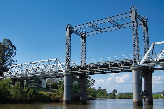 Ponte morpeth durante new south wales, austrália Foto gratuita